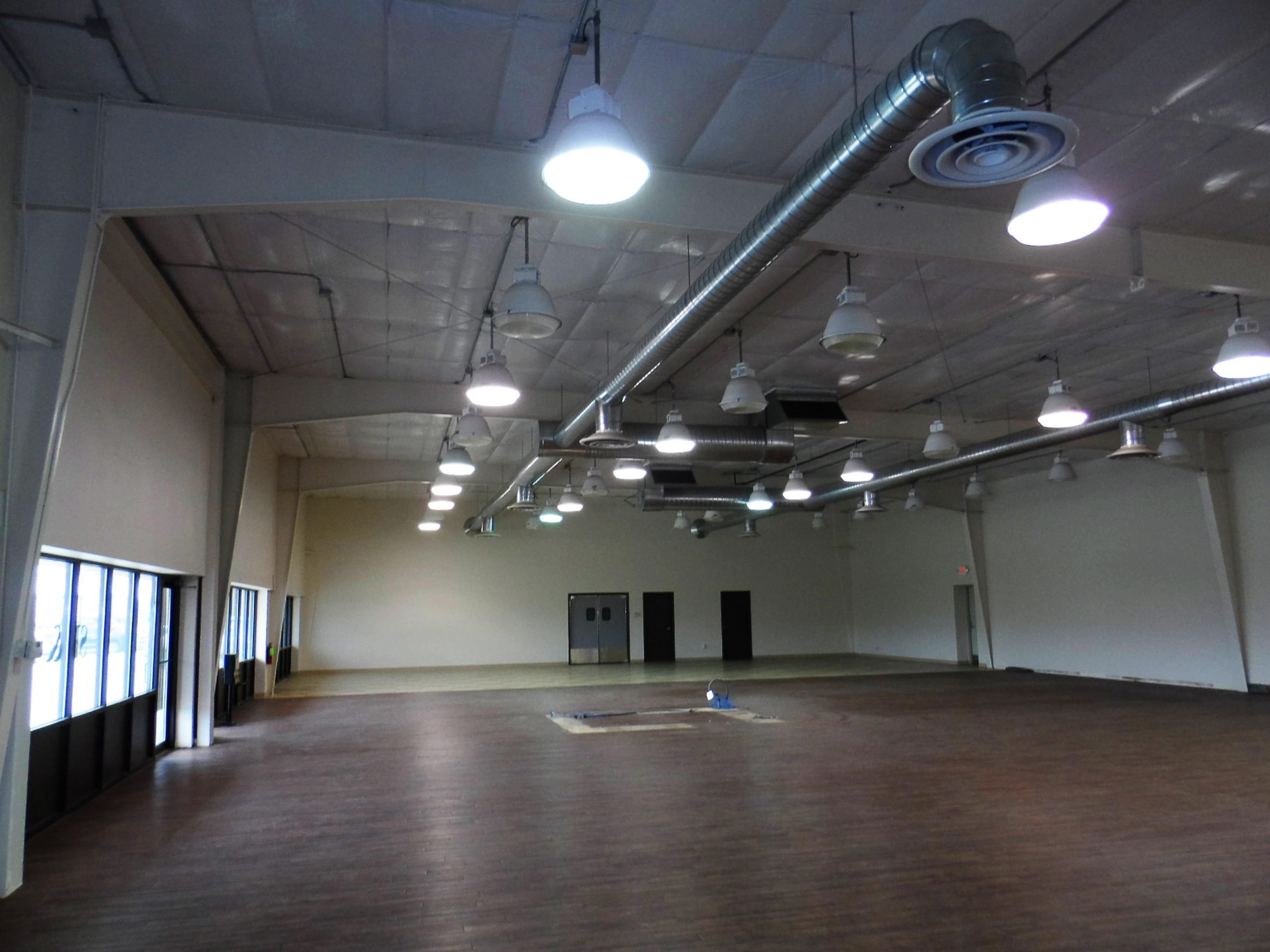 inside of commercial building for lease
